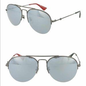Gucci Core 56mm Aviator Sunglasses, NWT